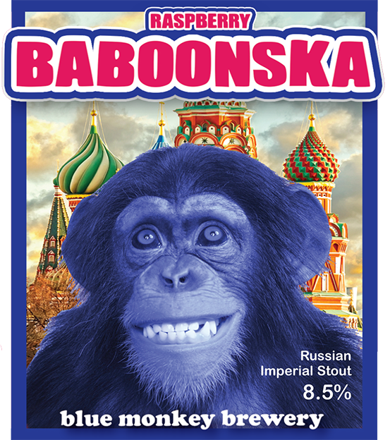 Raspberry Baboonska For 3 Pack